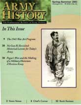 Army History Issue 55, Winter 2002