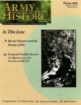 Army History Issue 57, Winter 2003
