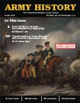 Army History Issue 62, Winter 2006