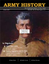 Army History Issue 63, Winter 2007