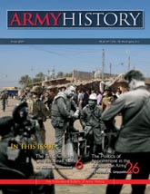 Army History, Issue 70, Winter 2009