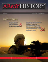 Army History, Issue 71, Spring 2009