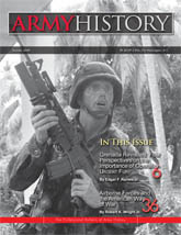 Army History, Issue 72, Summer 2009