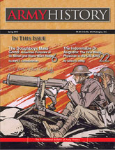 Army History, Issue 87, Spring 2013