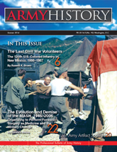 Army History, Issue 92, Summer 2014