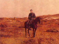 U.S. Cavalryman on the Plains