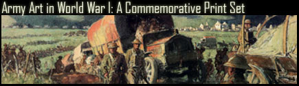 Army Art in World War I: A Commemorative Print Set