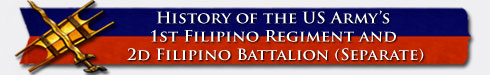Filipino Regiment banner