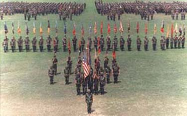 Inactivation ceremony of the 24th Infantry 