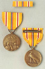 Asiatic-Pacific Campaign Medals