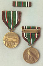 Photo:  European-African-Middle Eastern Campaign Medal