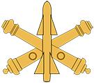 Air Defense Artillery Corps Branch Insignia