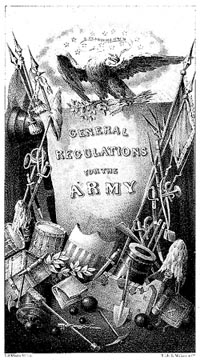 Title image, Survey of U.S. Army 