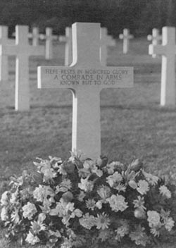 Unknown U.S. soldier from the North 