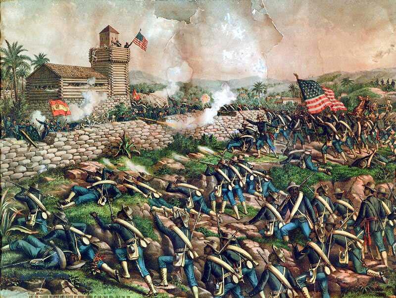 Buffalo Soldiers At San Juan Hill