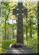 The Irish Brigade Monument at Gettysburg, PA