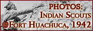 Indian Scouts at Fort Huachuca, 