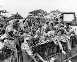 Manila during February 8-12, 1945. 