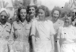Army Nurses in Santo Tomas Internment 