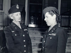 Major Maude C. Davison, ANC, and