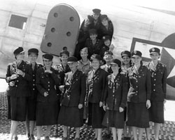 Group of Army nurses ready to fly to 