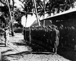 Army nurses, taken prisoners by the 