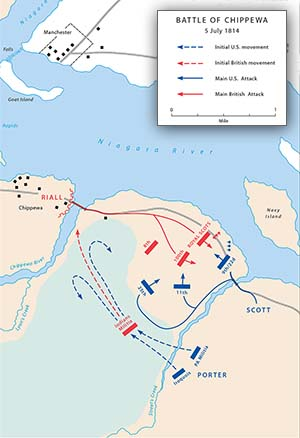 The Battle of Chippewa, July 5, 1814 | Center of Military History on