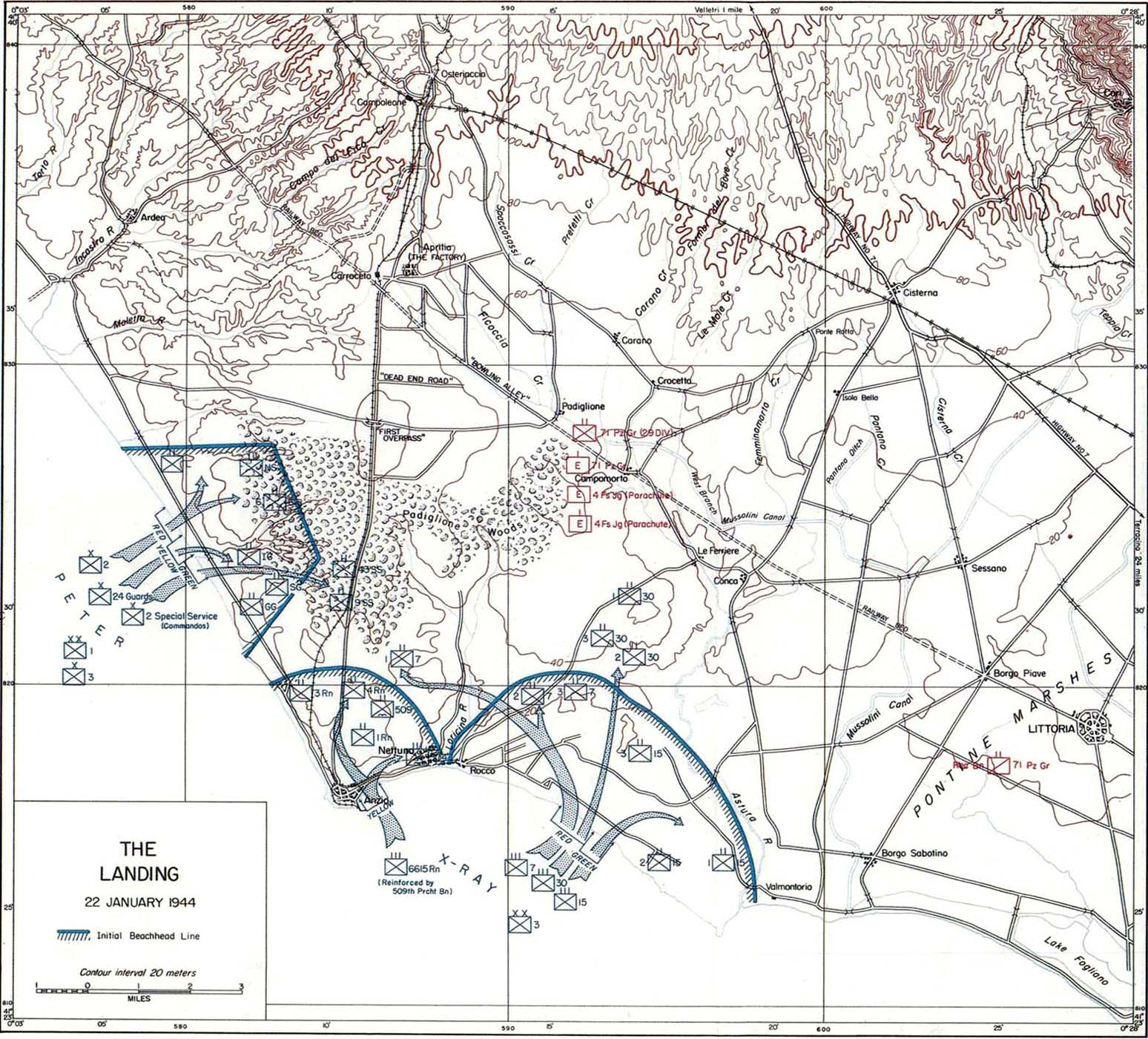Anzio 1944 Center of Military History