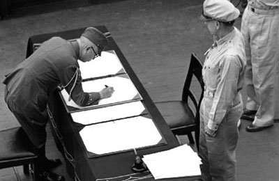 The Formal Surrender of Japan, 2 September 1945