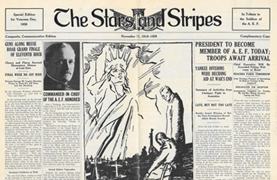 Stars and Stripes, November 11, 1958