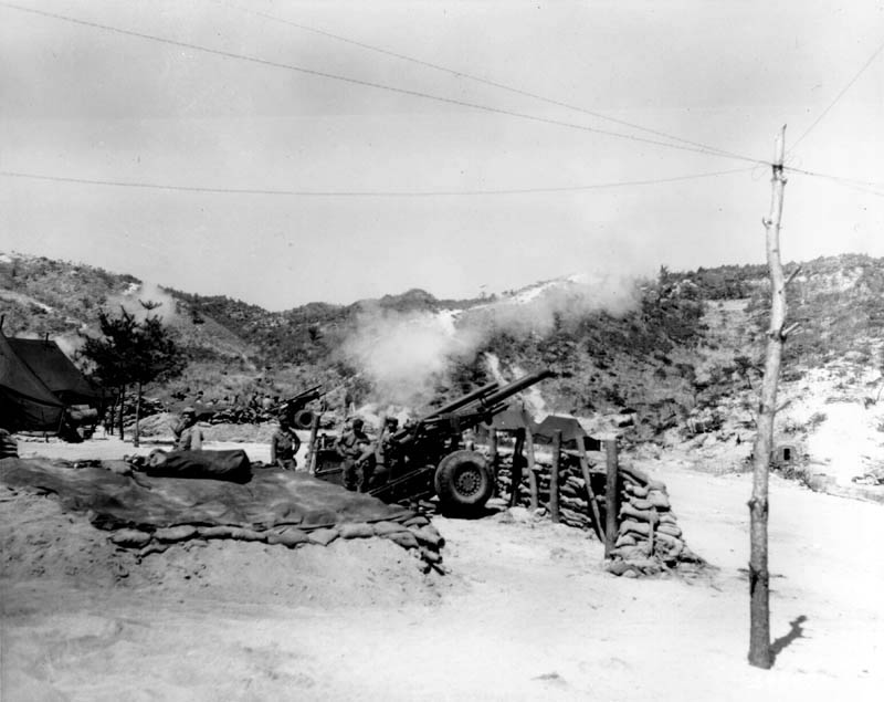 Korean War Photos Of 1952